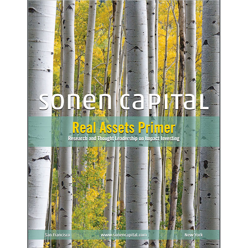 Real Assets Primer: Research and Thought Leadership on Impact Investing
